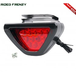 Red Car Brake Light