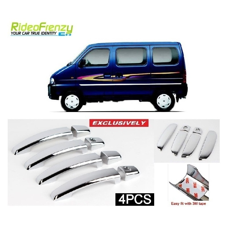 Buy Maruti Eeco Door Chrome Handle Cover online at low prices-RideoFrenzy