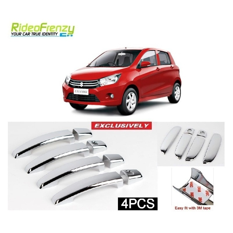 Maruti Celerio Door Chrome Handle Covers