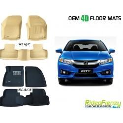 Ultra Light Bucket 4D Crocodile Floor Mats for New City Ivtec/Idtec