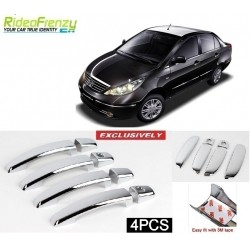 Buy Tata Manza Door Chrome Catch/Handle Covers online at low prices-Rideofrenzy