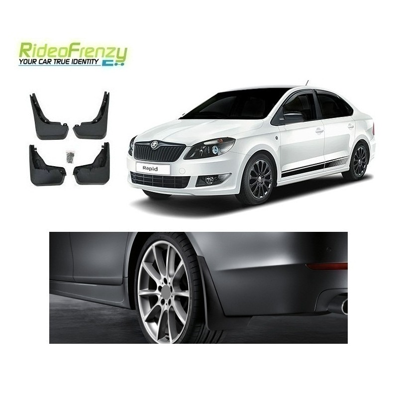 Buy Original OEM Skoda Rapid Mud Flaps online at low prices-Rideofrenzy