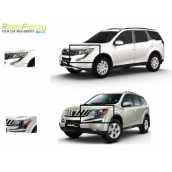 Buy Mahindra XUV500 Chrome HeadLight Covers online at low prices-Rideofrenzy