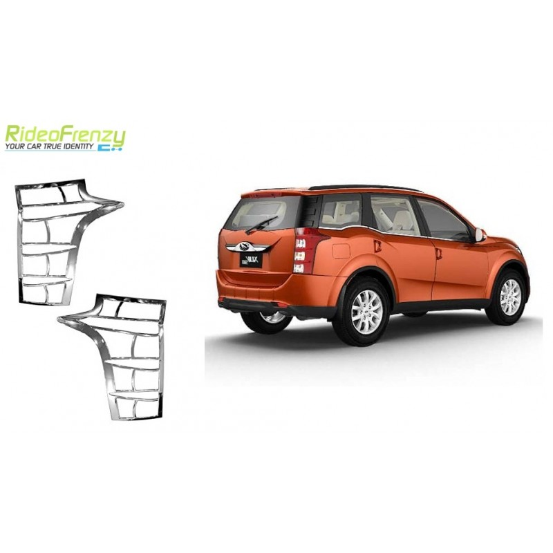 Buy Mahindra XUV500 Chrome Tail Light Covers at low prices-RideoFrenzy