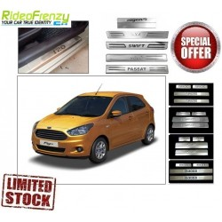 Buy New Ford Figo Door Stainless Steel Sill Plate online at low prices | Rideofrenzy