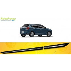 Buy Original Chrome Inserted Maruti Baleno Side Beading at low prices-RideoFrenzy