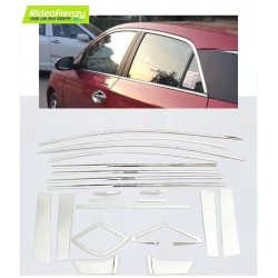 Buy Hyundai Elite i20 chrome window garnish online at loww prices-RideoFrenzy