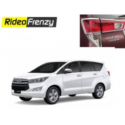 Innova Crysta Chrome Tail Light Covers online at low prices-Rideofrenzy
