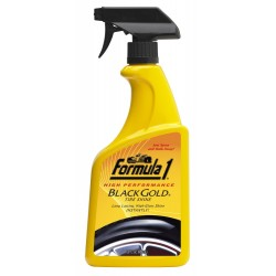Formula 1 Black Gold Tire Cleaner & Shiner (680 ml)