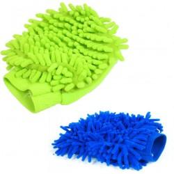 Microfiber Vehicle Washing Hand Glove(Pack Of 2)
