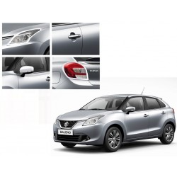 Buy Maruti Baleno Chrome Combo Set 4-Triple Layered Chrome Plating at low prices-RideoFrenzy