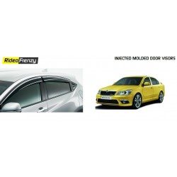 Buy Unbreakable Skoda Laura Door Visors in ABS Plastic at low prices-RideoFrenzy