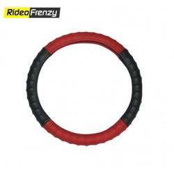 Premium Quality Bold Edge Steering Cover-Gray