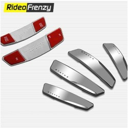 Status White High Glossy Slim Door Guards