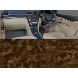 Buy Maruti Ciaz Wallnet Burl Wooden Dashboard Trim Kit online at low prices-Rideofrenzy