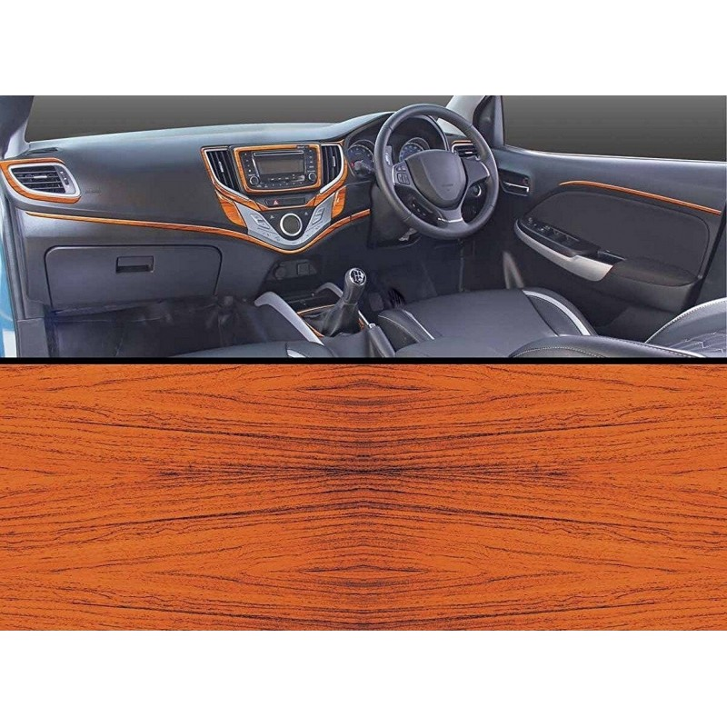 Buy Maruti New Baleno Rosewood Wooden Dashboard Trim Kit Online India