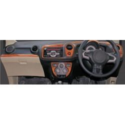 Buy Honda Brio/Amaze wooden dashboard trim kit online at low prices-RideoFrenzy