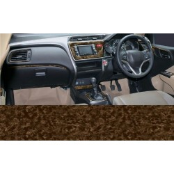 Buy Honda City Ivtec/Idtec RedWood wooden dashboard trim kit online at low prices-Rideofrenzy