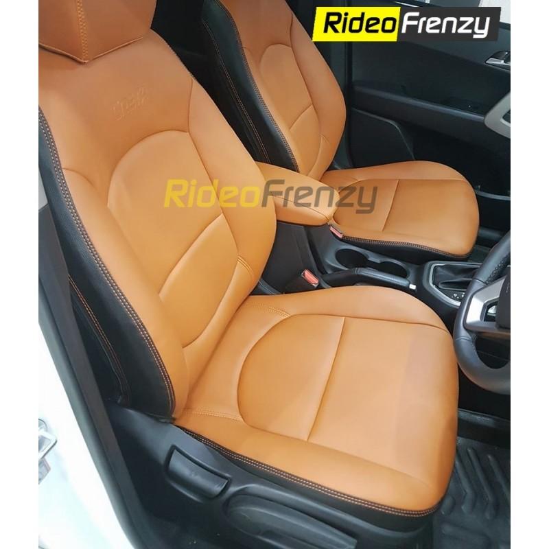 Premium Leather Seat Covers For Hyundai Creta