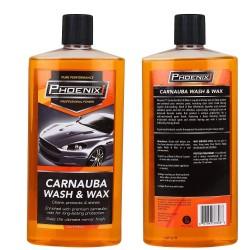 Phoenix 1 Car Wash & Wax - Shampoo + Wax (590 ML)
