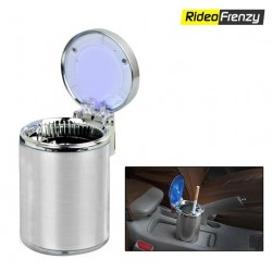 Premium Fancy Blue LED Light Ashtray