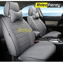 Buy Summer Breathable Automotive Linen Car Seat Covers | 16 mm Evlon Foam | Urban Grey