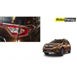 Buy Honda BR-V Chrome Tail Lights Covers online India   Best Quality Chrome Accessories for Honda BRV