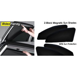 Buy Z-Black Sun Shades for Car Online India | Customized Fitting