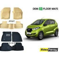 Ultra Light Bucket 3D Floor Mats for Datsun Go Plus