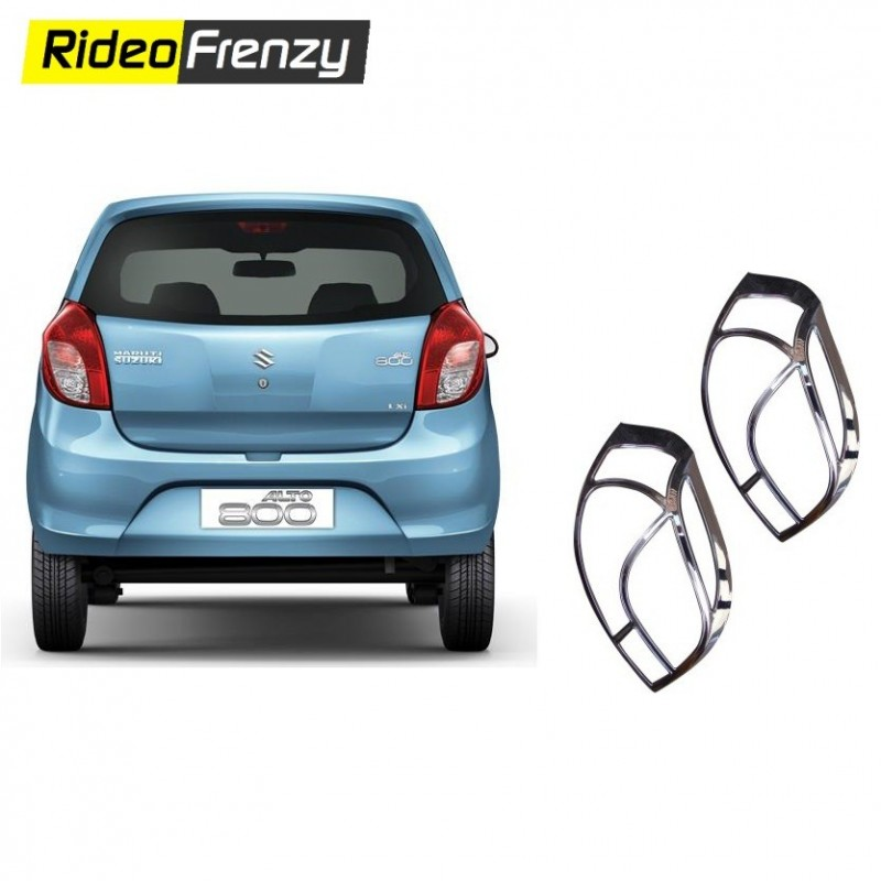 Premium Maruti Alto 800 Chrome Tail Light Cover