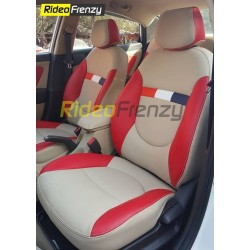 Bucket Fit Leather Seat Covers for Verna Fluidic