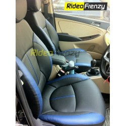 Italian Leather Seat Covers for Verna Fluidic