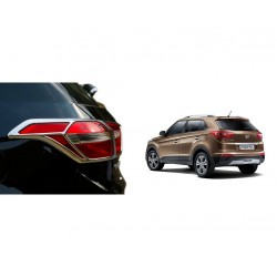 Buy Hyundai Creta Chrome Tail Light Covers online at low prices-RideoFrenzy
