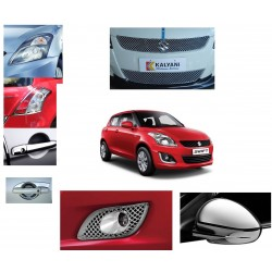 New Maruti Swift Chrome Combo Set of 7