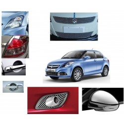 New Maruti Dzire Chrome Combo Set of 7