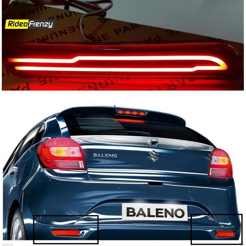 Buy Maruti Suzuki Baleno Rear Led Reflector Drl Best
