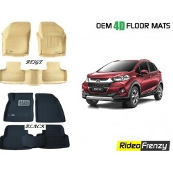 Honda WRV 3D Crocodile Floor Mats