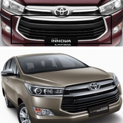 Innova Crysta Chrome Grill Outline Garnish