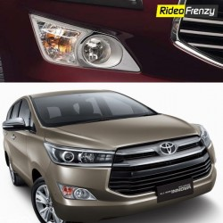 Buy Innova Crysta Chrome Fog Lamp Garnish Covers online at low prices-Rideofrenzy