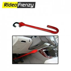 Buy Heavy Duty Car Steering Pedal Lock Online India | Best Selling