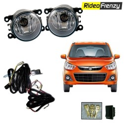New Maruti Alto K10 Fog Lamp Kit with Wiring