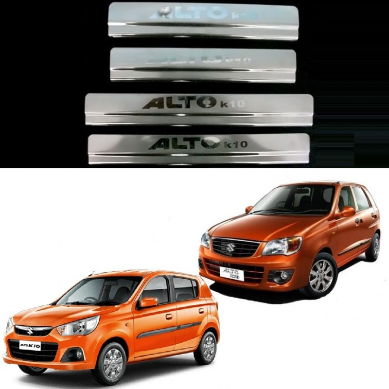 Buy Door Stainless Steel Sill Plate for Alto K10 at low prices-RideoFrenzy