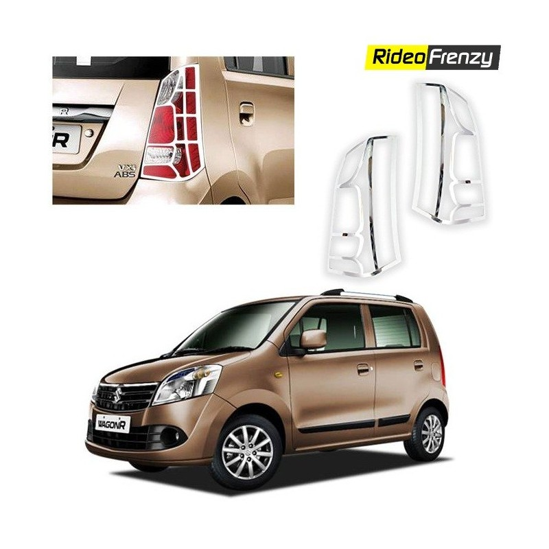 Maruti New WagonR Chrome Tail Light Covers