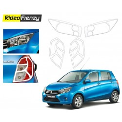 Maruti Celerio Chrome Tail Light + Headlight Combo