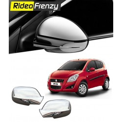 Buy Triple Layered Maruti Ritz Chrome Mirror Covers online at low prices-RideoFrenzy