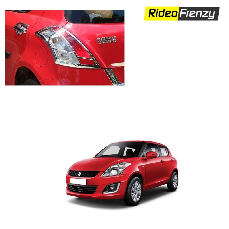 Maruti Swift Chrome Tail Light Covers
