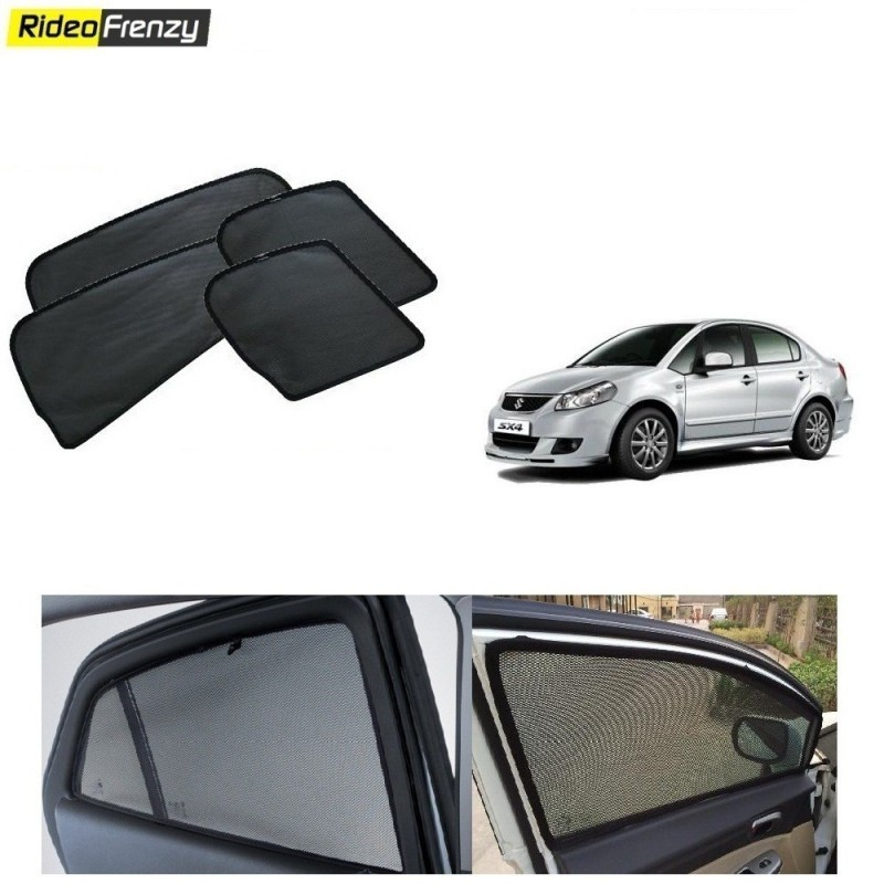 Buy Maruti SX4 Magnetic Car Window Sunshades at low prices-RideoFrenzy