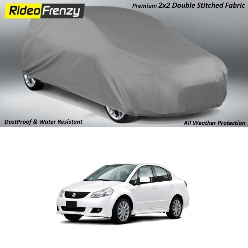 Buy Heavy Duty Double Stitch SX4 Ertiga Body Covers at low prices-RideoFrenzy