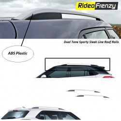 Buy Dual Tone Sporty Roof Rails for SUV Online at low prices-RideoFrenzy