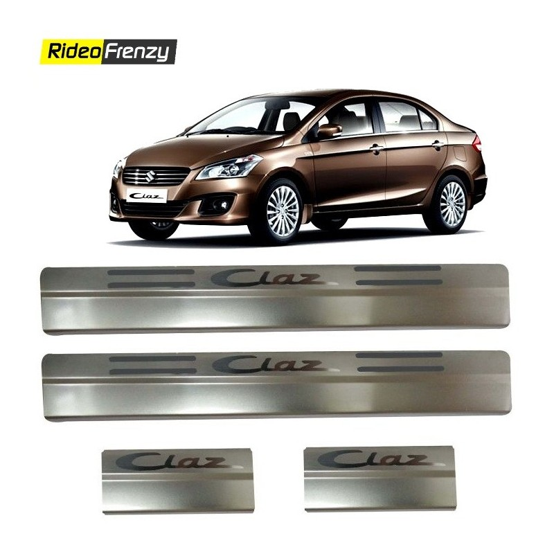 Buy Maruti Ciaz Door Stainless Steel Sill Plates at low prices-Rideofrenzy